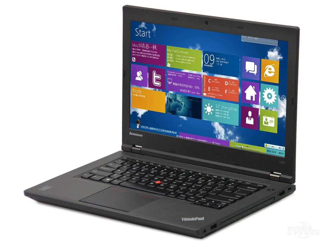 联想ThinkPad L440(i7-4600M/4GB/1TB)图赏