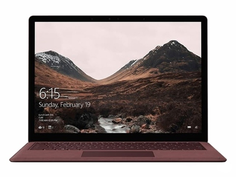 微软Surface Laptop(i5/4GB/128GB) 前视
