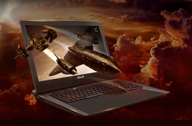 华硕ROG GFX72VS(i7-7700HQ/8GB/1TB+256GB)效果图