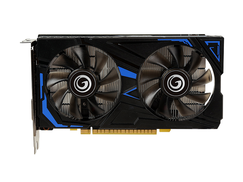影驰GeForce GTX1650 骁将 D6 正面